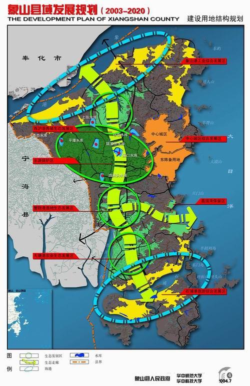 临海市城市总体规划