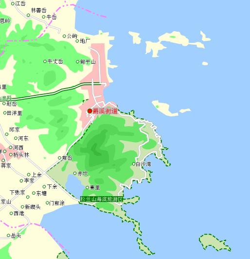 象山乡镇地图 持续更新中>