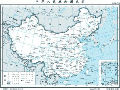 两幅现代中国地图( 易道禅)-象山同乡网