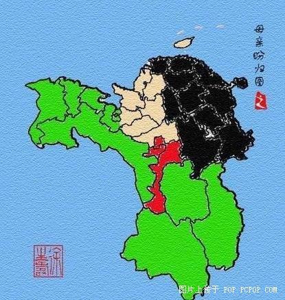 中国地图居然暗藏如此天机!-象山同乡网
